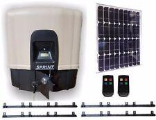 DACE SPRINT SOLAR SLIDER KIT - 40W PANEL - 2 REMOTES - 4M GATE RACK - FAST SPEED