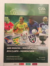 2014 GAA All-Ireland Football Q-F DONEGAL v ARMAGH & DUBLIN v MONAGHAN Programme