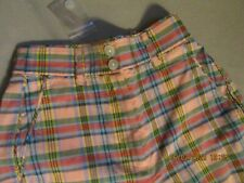 J Crew Plaid Pants Size 0 New