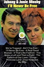 Johnny & Jonie Mosby - I'll Never Be Free - Sealed Capitol Cassette