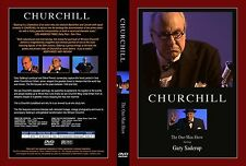 CHURCHILL ,the one man show starring Gary Saderup DVD Feature Film