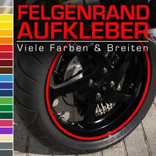 Felgenrandaufkleber 9mm für Auto Motorrad Wohnmobil Wohnwagen Lila Pink Violett