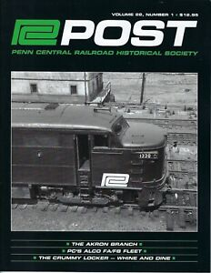PC Post: Spring 2021, PENN CENTRAL Railroad Historical Society, BRAND NEW Issue
