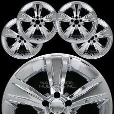 "4 2015 16 17 2018 Dodge Charger 18"" Chrome Wheel Skins Hub Caps Full Rim Covers"