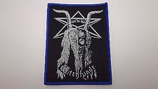 Witchfynde Give 'Em Hell   WOVEN  PATCH