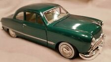 1949 Ford Coupe Rare Metallic Green 1:24 Diecast Model Car