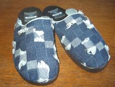 Damen-Pantoffeln aus Textil ohne Muster