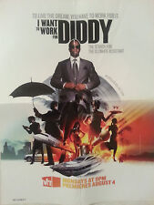 I WANT TO WORK FOR DIDDY LAMINATED POSTER PUFF DADDY SEAN JOHN VH1