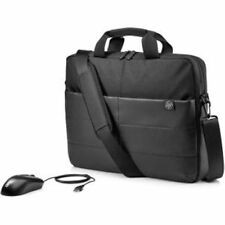 """HP 1FK06AA 15.6"""" Classic Briefcase and Mouse Bundle"""