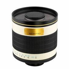 500mm f/6.3 Mirror telephoto lens for Nikon Cameras