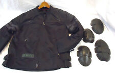 Harley Davidson Jacket Black Motorcycle w/Armour XL