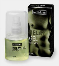 SEx CoolMan Delay Gel 30 ML per EIACULAZIONE PRECOCE ritardante SHOP dildo