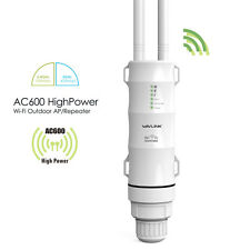 Wavlink AC600 IP65 Outdoor Wireles Repeater 2.4G&5G Wifi Ranger Extender Booster