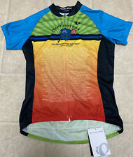 PEARL IZUMI Custom Select Cycling Jersey Womens M Police Unity Boulder Colorado