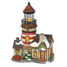 Dept 56 New England Village New 2018 West Haberdine Lighthouse 6000608 Limited