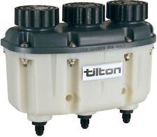 Tilton Brake Fluid Reservoir 3 in 1 Pot - JIC -4 / 7/16 UNF Threaded Fittings