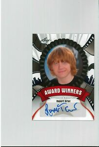 *MINT* Harry Potter Autograph Card RUPERT GRINT Pop Century Auto RON WEASLEY