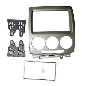 Radio Fascia for Mazda 5 FORD i-Max 2 Din Stereo Panel DVD Dash Mount Trim Kit