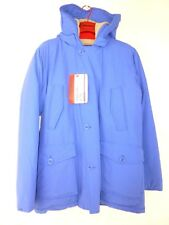 Freedomday Homme Parka D'Hiver Veste Taille L 52 Bleu Extérieur Np 299 Neuf