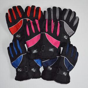 Kinder Handschuhe Wasserdicht Winterhandschuhe Jugendliche ab 10-14 ahre