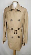 M&S Autograph Weekend Womens Coat, Size 16, Neutral, Cotton Blend, VGC