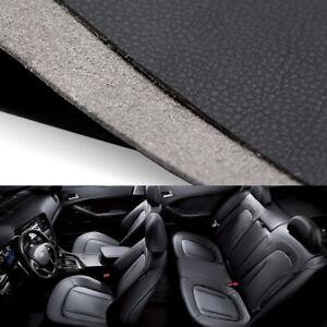 DIY Black Leather Steering Wheel Door Handle Armrest Dashboard Panel Cover