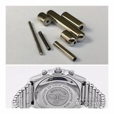 New 20mm Breitling Rouleaux Bullet Watch Link, Pin & Sleeves. Satin Or Polished