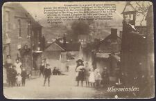Wiltshire PH 1916 Warminster Street Scene Sand Hill Camp to Northampton