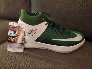 Kevin Durant (Brooklyn Nets) Signed KD Nike Shoe (JSA COA)