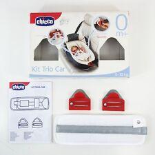 Chicco trio nacelle porte-bébé allongé à plat siège auto bébé ceinture clips kit 0+ mth