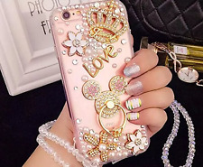 iPhone 7 Plus Diamond Case,iPhone 7 Plus Crystal Rhinestone Case,Luxury Bling Cr