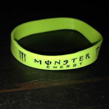 PERFORMANCE FASHION BRACELET MONSTER SPORT WRIST BAND BLACK WHITE USA SELLER