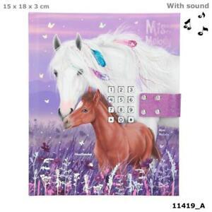 Tagebuch mit Code & Sound, Miss Melody, Depesche 11419, Pferde Pony