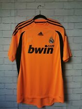 Real Madrid Goalkeeper Home Shirt 2009/10 Adidas Large Casillas #1 Adult Medium