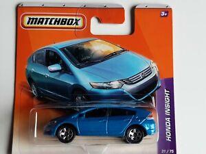 Matchbox No 31 Honda Insight Blue In Blister Pack
