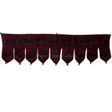 Indian Wall Hanging Valance Door Topper Handmade Embroidery Toran Home Decor