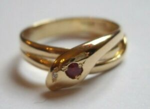 0.24Ct Round Cut Amethyst Simulnt Diamond Snake Wrap Ring Yellow Gold Fns Silver