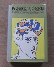 PROFESSIONAL SECRETS autobiography Jean Cocteau - 1st/1st HCDJ 1970 - art