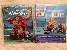 MOANA BLU-RAY + DVD (Disney 2017) Brand New, Free Shipping, Family Fun