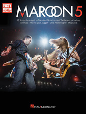 MAROON 5-EASY GUITAR WITH NOTES & TAB MUSIC BOOK-BRAND NEW ON SALE SONGBOOK!!