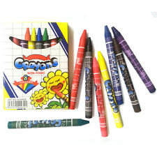10 Value Pack 8 Color Crayon Non-toxic Safe for Kids Drawing Bulk lots Wholesale