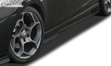 """RDX retrasadas renault megane 3 Coupe faldones """"gt4"""" set alerón"""