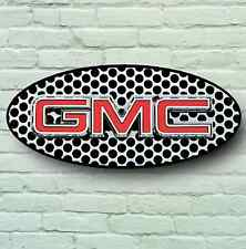 GMC LOGO 2FT GARAGE SIGN WALL PLAQUE CAR CLASSIC WORKSHOP USA PICK UP TRUCK