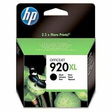 ORIGINAL & BOXED NOV 2018 HP920XL / CD975A BLACK INK CARTRIDGE - SWIFTLY POSTED