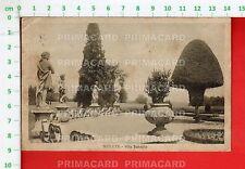 51852 CARTOLINA 1935 LECCO MERATE VILLA SUBAGLIO PARCO GIARDINO
