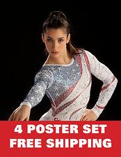 ALEXANDRA RAISMAN united states olympic games 2012 london gym excercise 4 SET !!