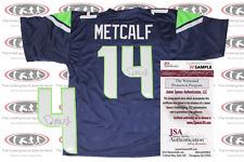 DK D.K. Metcalf Signed Seattle Custom Pro Style Jersey JSA Witnessed