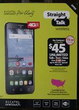 "NEW - Straight Talk Alcatel OneTouch 5.5"" Pixi Glory LTE Smartphone"
