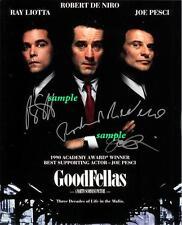 Goodfellas #2 Reprint Autographed Signed Picture Photo 8X10 Pesci Robert Deniro