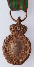 Médaille de SAINTE HELENE rare demi taille Napoléon EMPIRE ORIGINAL French Medal